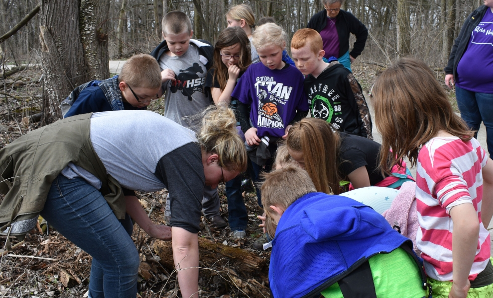 Ruthven 2nd Gr. May 2018 Outside Visit