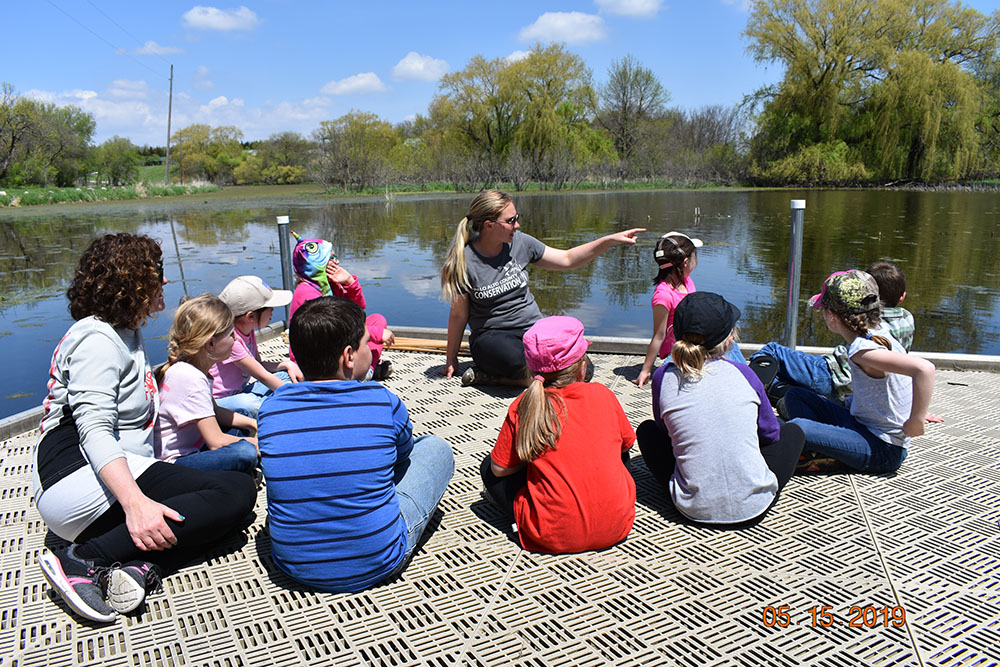 Outdoor Classroom at the Marsh