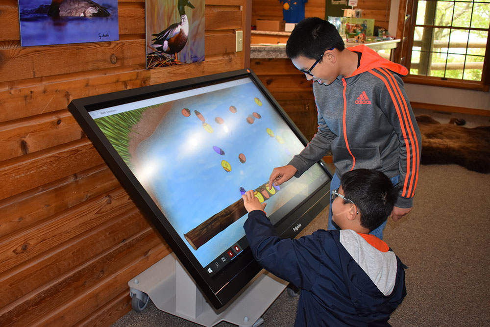 New Exhibits at the Nature Center