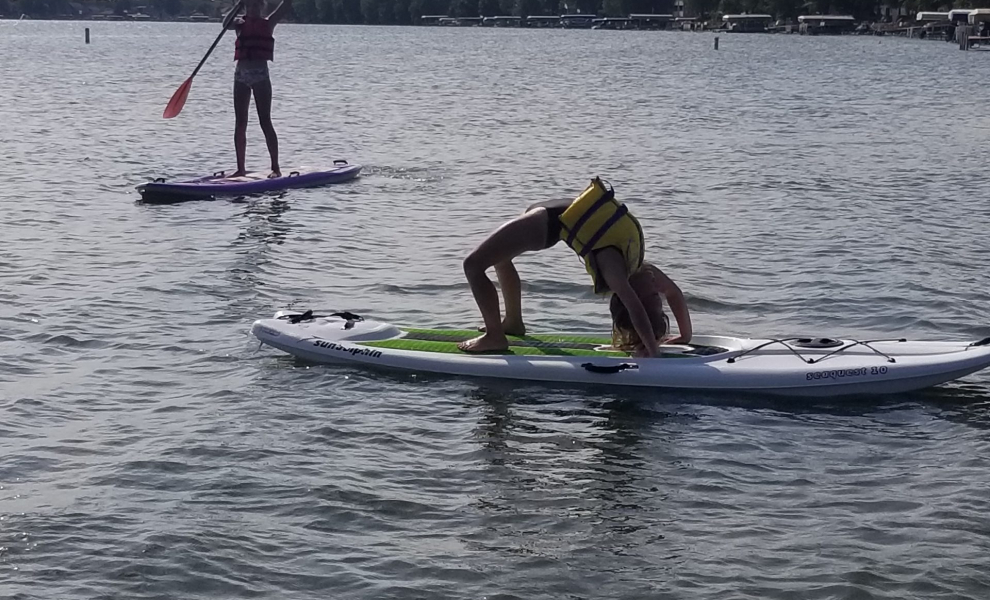 July 23 2020 paddleboarding
